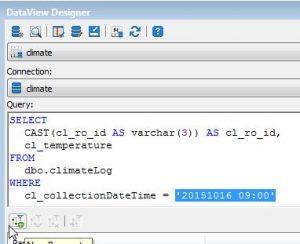 07_Report climateLog add dataview parameter