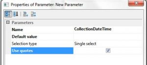 08_Report climate Log parameter configuration